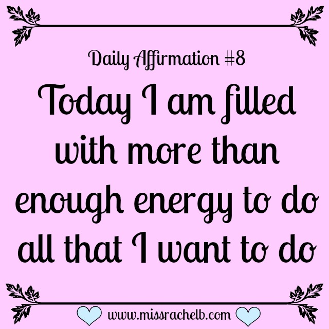 Daily Affirmation #8